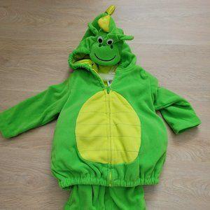 Carters 18 months toddler dinosaur costume